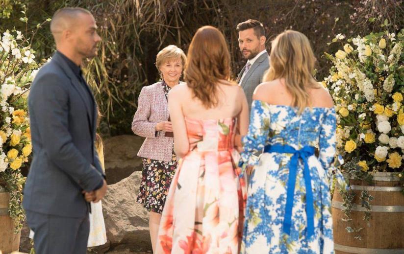 Una scena del finale di stagione di Grey's Anatomy 14