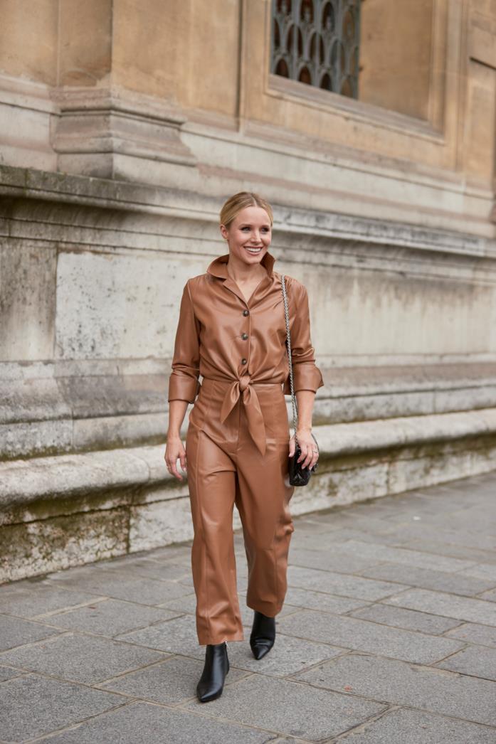 Kristen Bell alla Paris Fashion Week