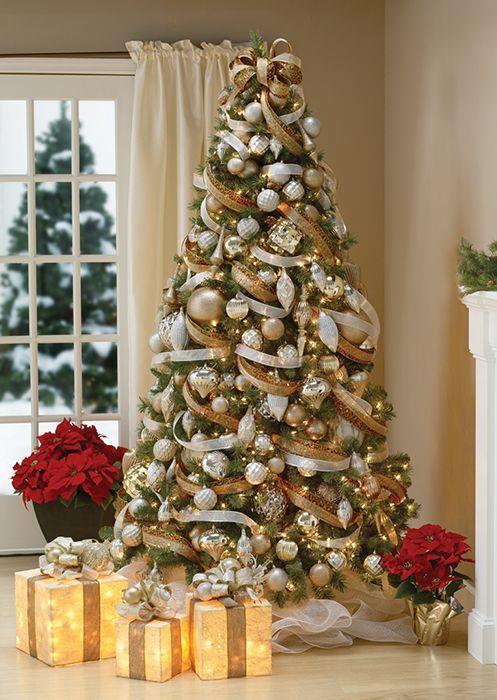 Albero natalizio elegante