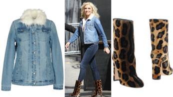 Gwen Stefani ha scelto un total look in denim