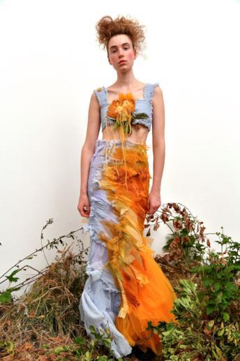 Sfilata CAROLINE HU Collezione Donna Primavera Estate 2020 Londra - CSC_0303