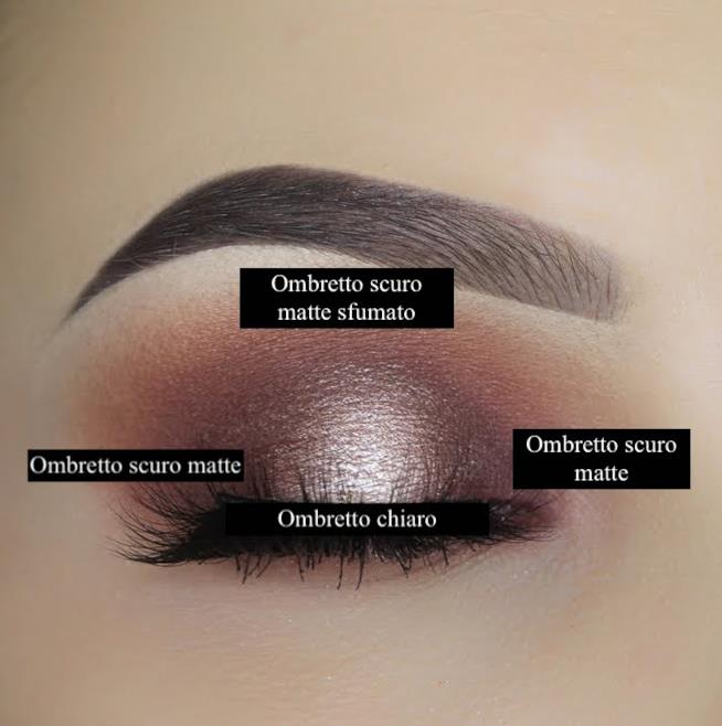 Halo eye make-up