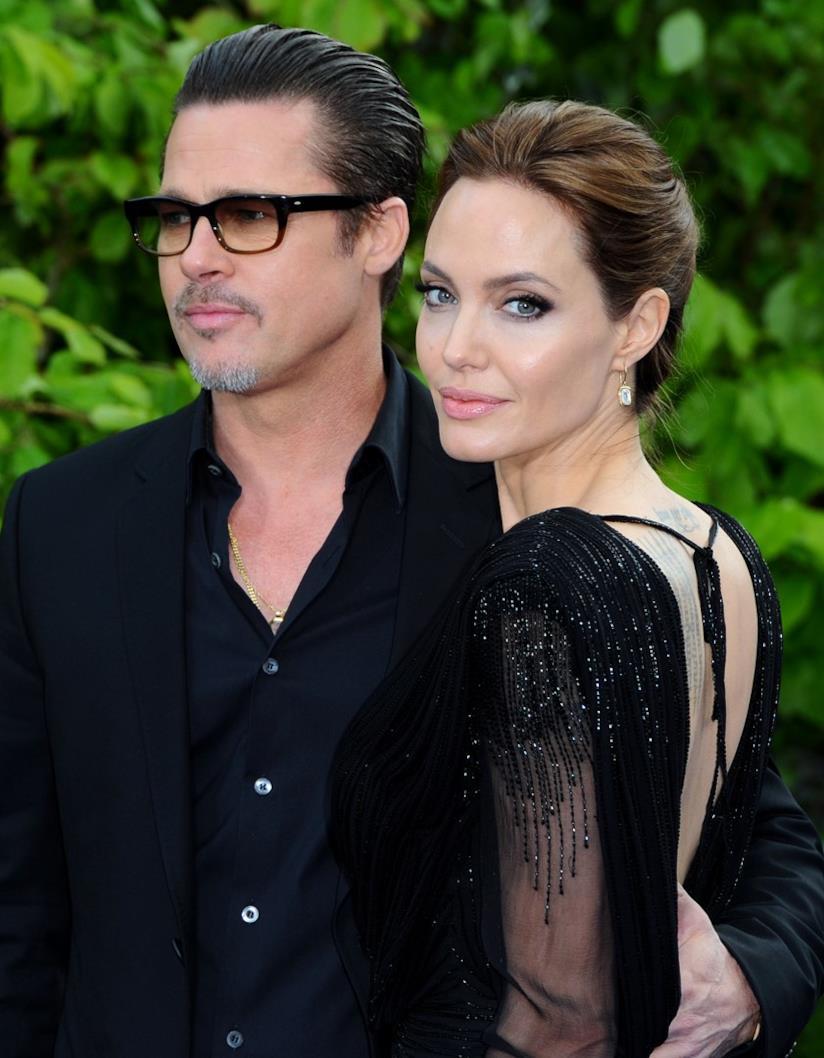 Brad Pitt e Angelina Jolie quando erano una coppia