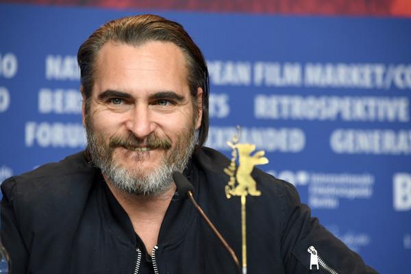Il sorriso di Joaquin Phoenix alla Berlinale