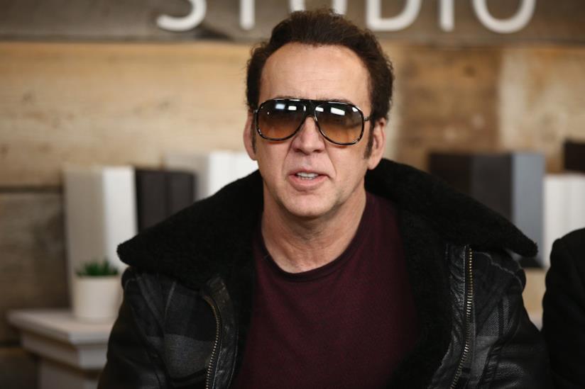 L'attore Nicolas Cage