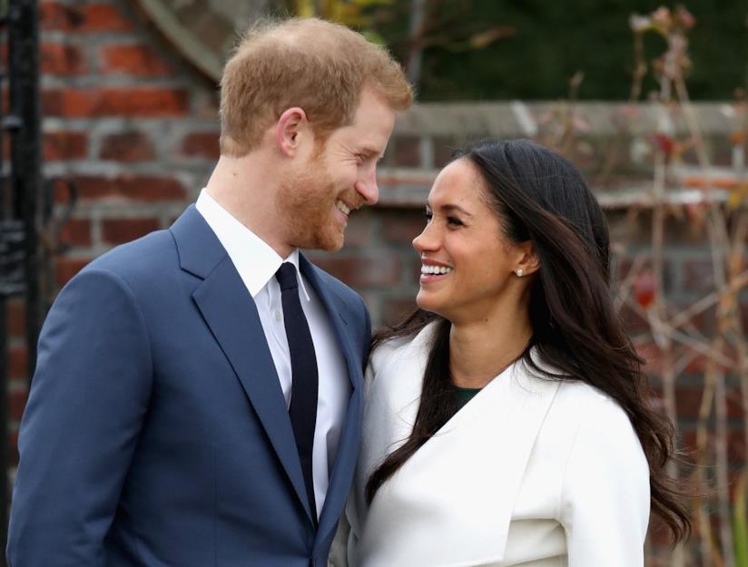 Il Principe Harry e Meghan Markle dopo l'annuncio del fidanzamento