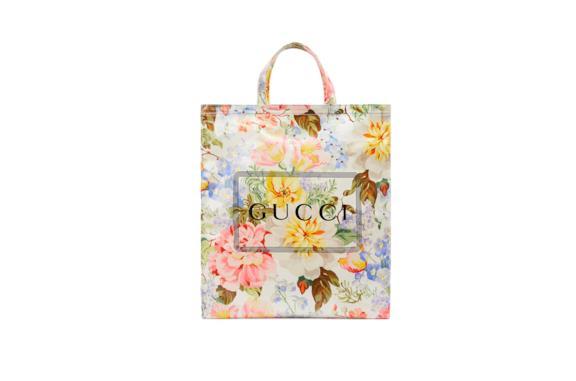 La shopper Gucci a fiori