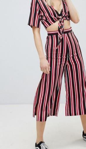 0cd982795c Pantaloni palazzo a righe i modelli più cool