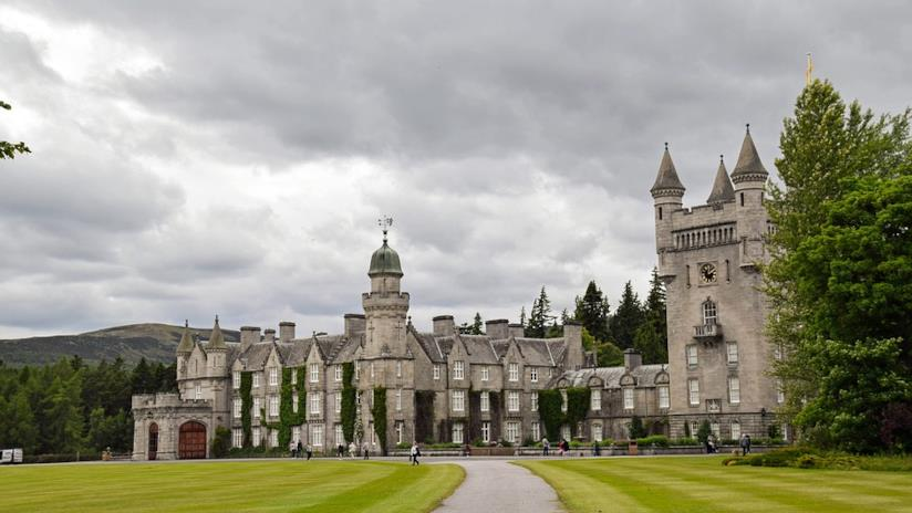 Balmoral Castle, veduta
