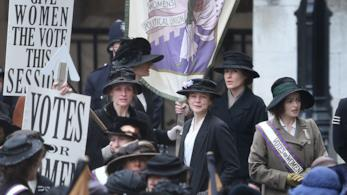 Una scena dal film Suffragette