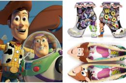 Collage tra Toy Story e scarpe