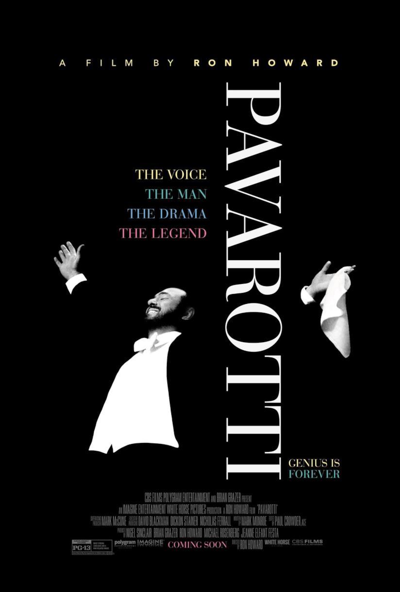 Il documentario su Pavarotti diretto da Ron Howard