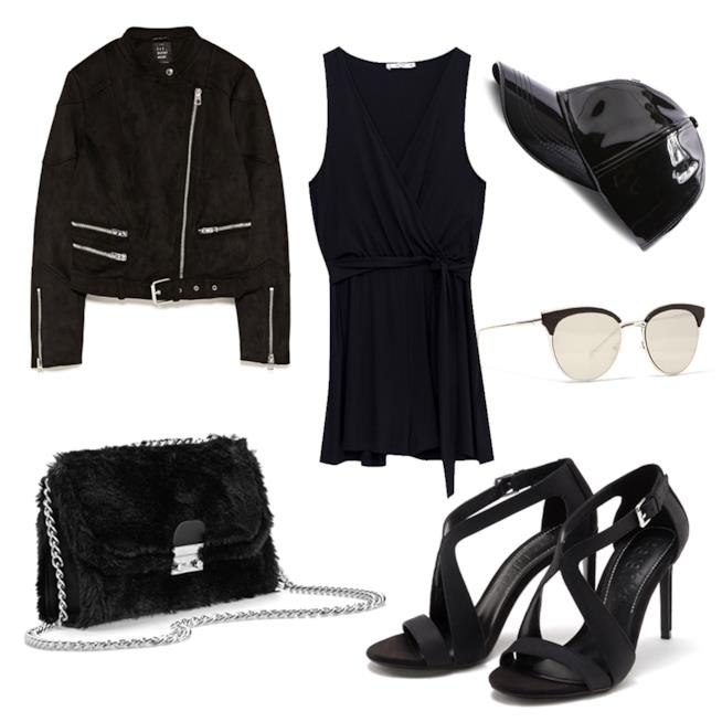 Idee look total black a 99 euro