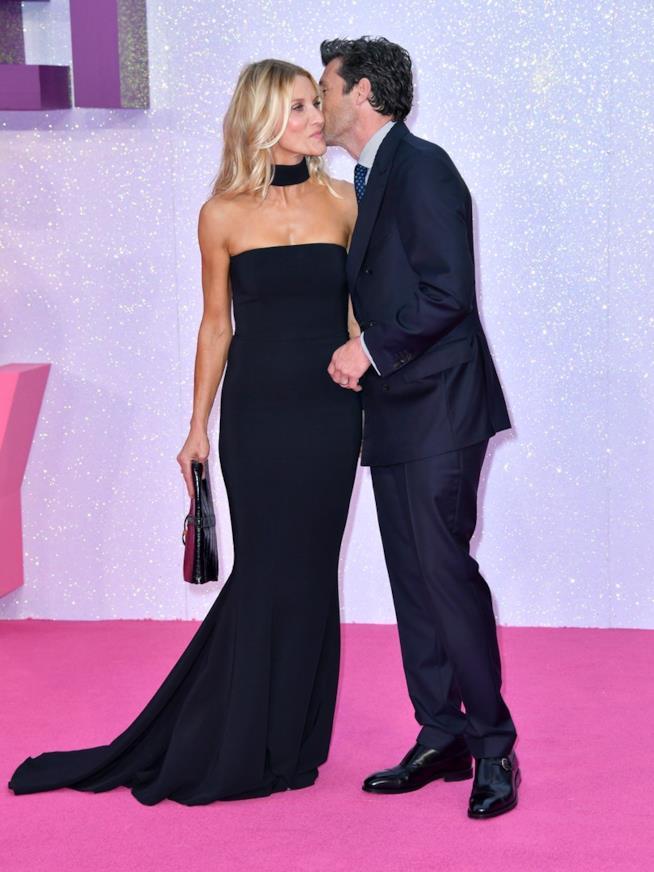 Patrick Dempsey con la moglie