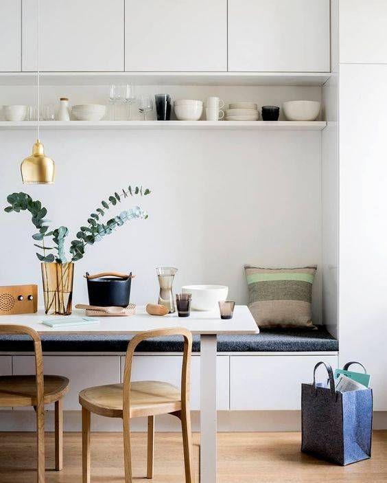 Tavola in stile nordico per la cucina