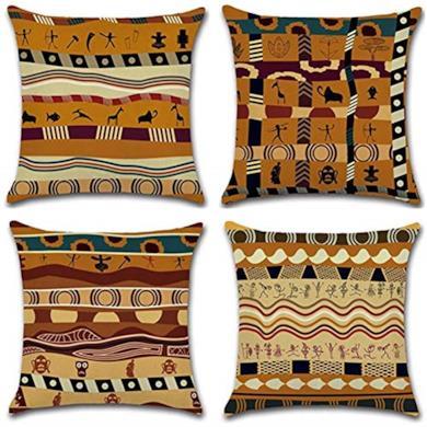 Federe in stile etnico africano