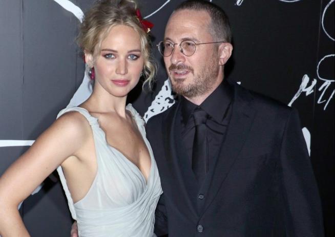 Jennifer Lawrence e Darren Aronofsky ai tempi della loro storia