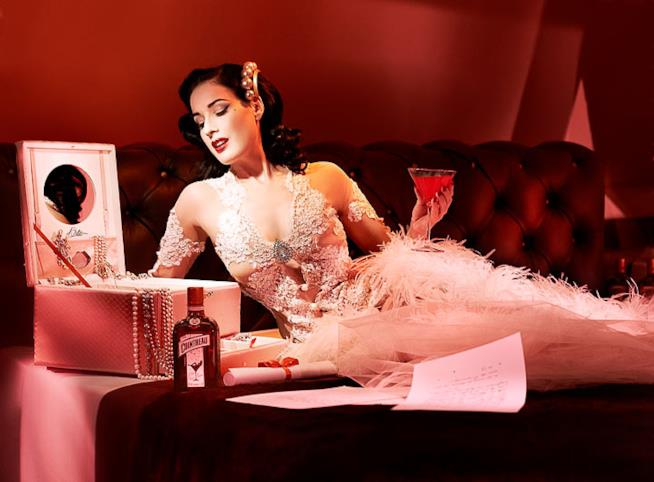 Dita Von Teese, regina del burlesque