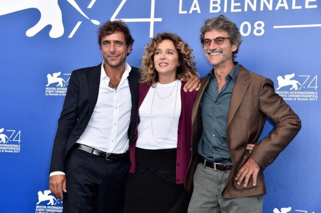 Adriano Giannini, Valeria Golino e Silvio Soldini a Venezia 74