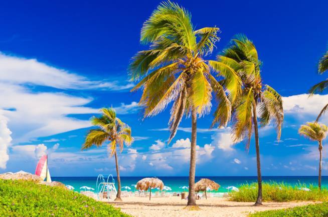 Viaggio a Cuba: spiaggia di Varadero