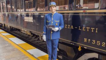 Steward  del Venice Simplon Orient Express