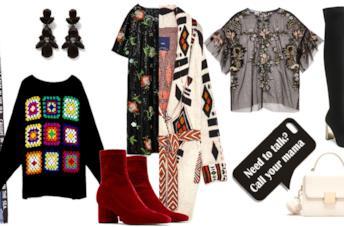 Capi della collezione Zara donna autunno inverno