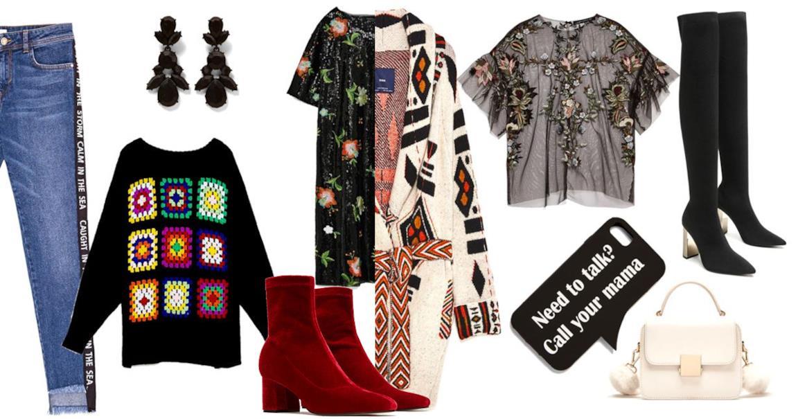 1faa217a6bce Capi della collezione Zara donna autunno inverno