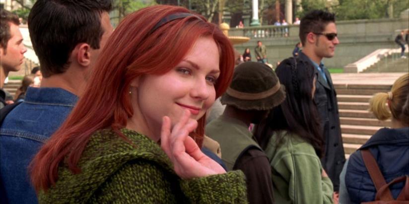 Kirsten Dunst nel ruolo di Mary Jane Watson in Spide-Man