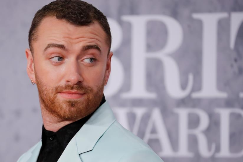 Il cantante Sam Smith