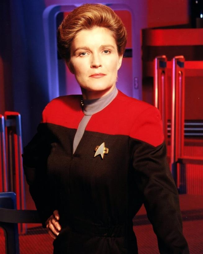 Star Trek Voyager: il capitano Janeway