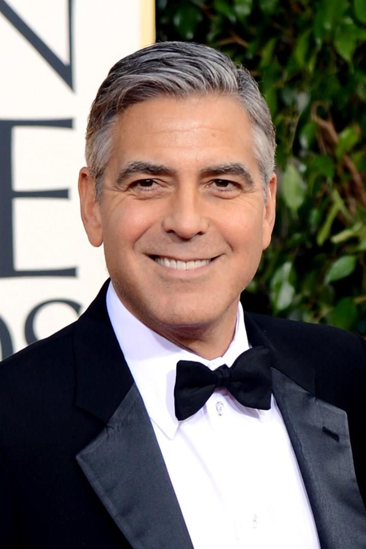 George Clooney in primo piano
