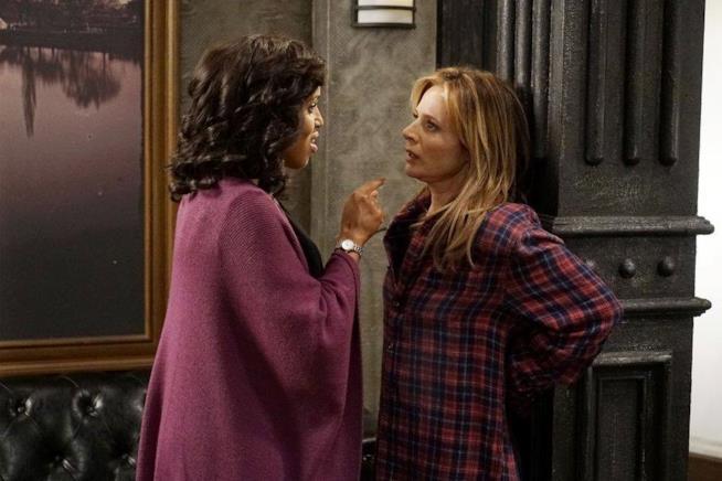 Lo scontro tra Olivia e Vanessa