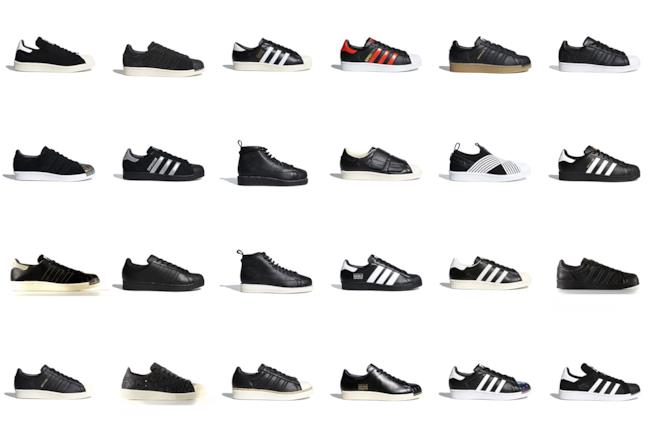 Adidas Superstar  tutti i modelli dalle bianche alle nere d4b9ef21510