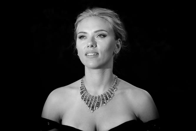 Scarlett Johansson in versione diva