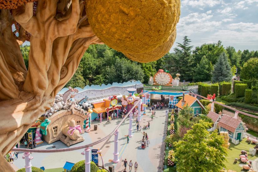Il parco divertimenti più grande d'Italia: Gardaland