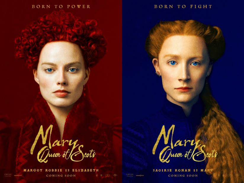 I poster ufficiali di Mary Queen of Scots