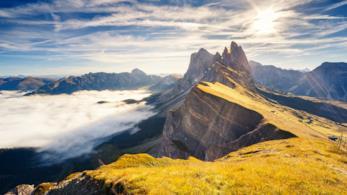Panorama montuoso
