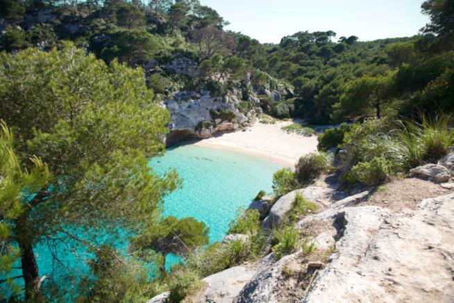 Cala Macaralleta, Minorca, Isole Baleari