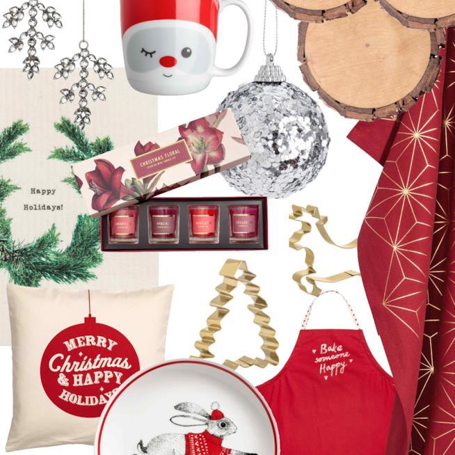 Decorazioni natalizie per la casa di H&M per Natale 2017
