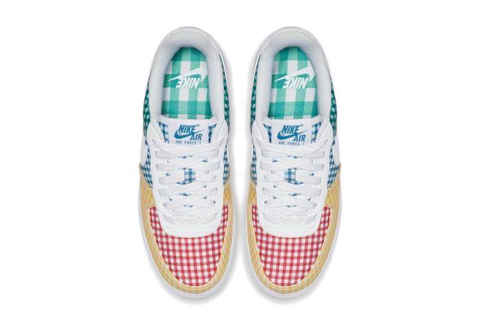 Nike Air Force 1 Gingham Pack - Multi-color