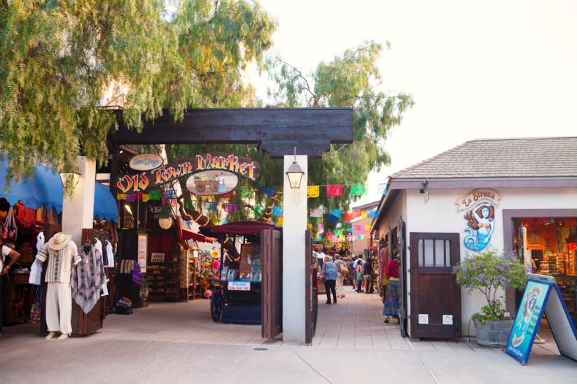 """La """"città vecchia"""" di San Diego"""
