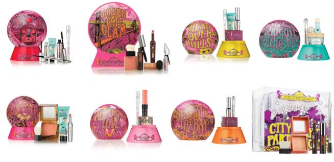 Confezioni natalizie di cosmetici di Benefit