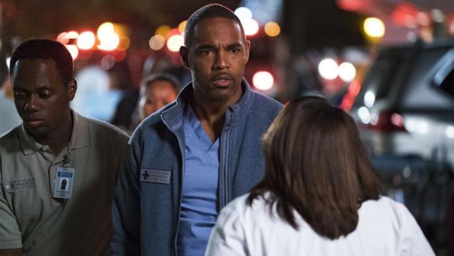 Jason George  in Grey's Anatomy 13