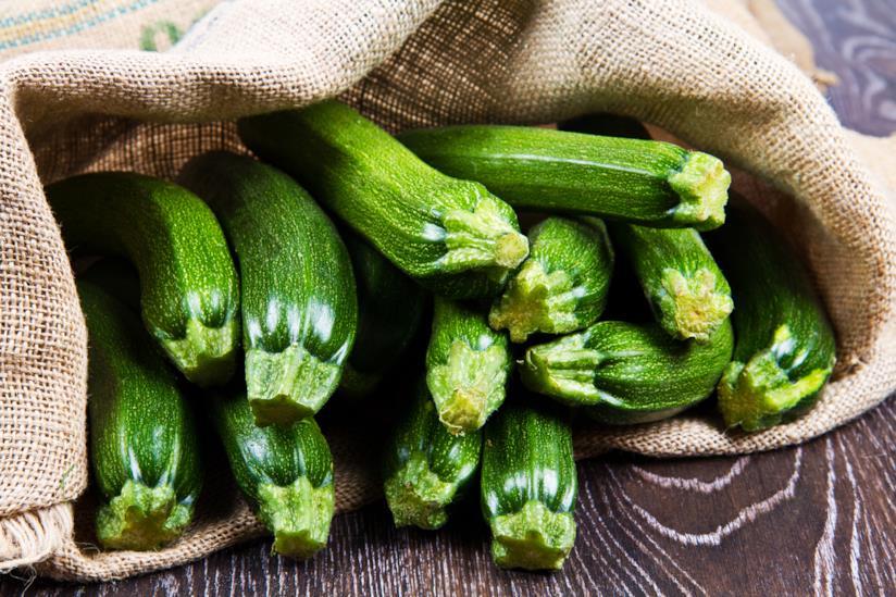 Zucchine in un sacco