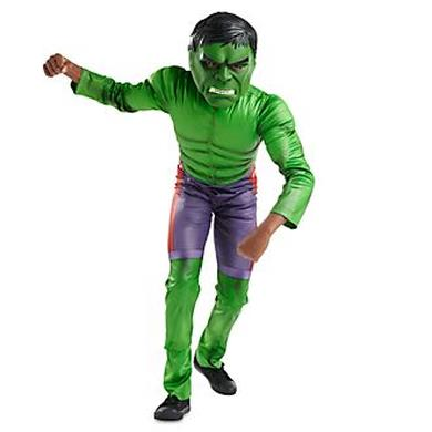costume bambini Incredibile Hulk