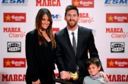 Lionel Messi e la sua famiglia