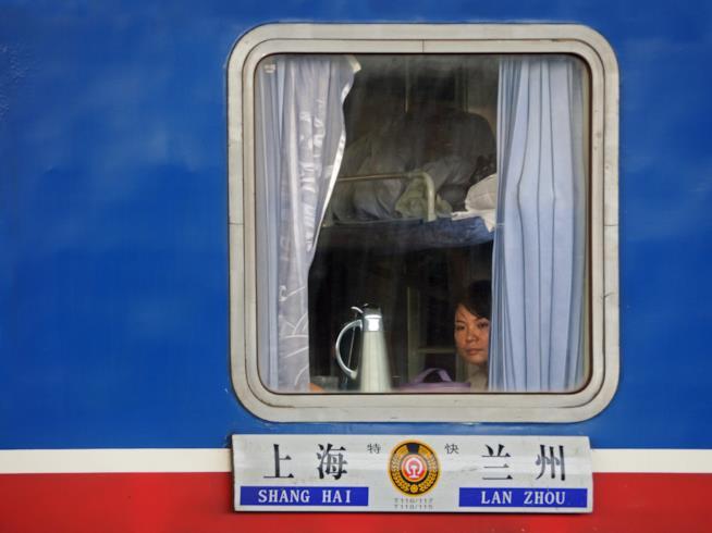 Le ferrovie cinesi pensano di dedicare alcune carrozze alle famiglie