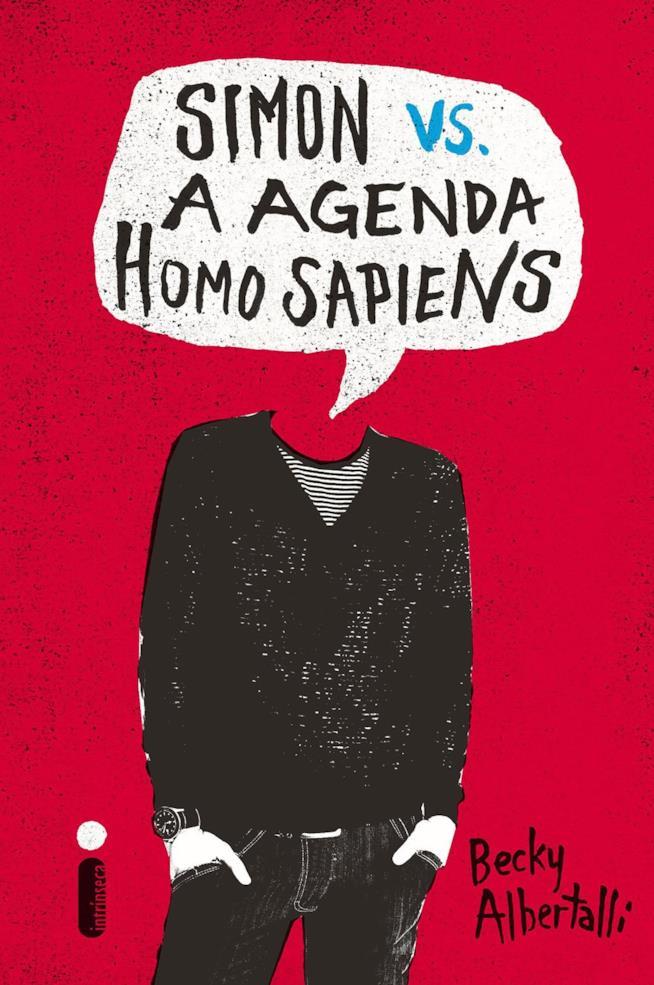 La copertina del libro Simon vs. The Homo Sapiens Agenda