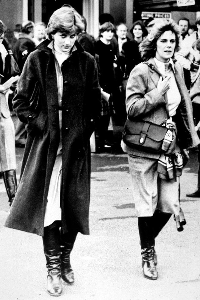 Lady Diana e Camilla Shand