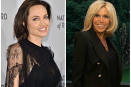 Angelina Jolie e Brigitte Macron